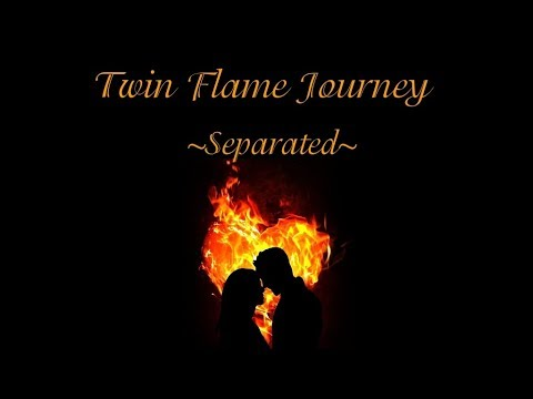 Separated Twin Flames ~ Twin Flame Journey Tarot Reading