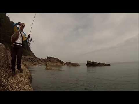 2013 06 21 HD 구례포 갯바위 광어 루어낚시