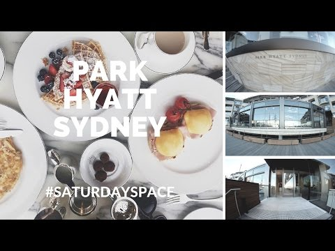 High Tea At Park Hyatt Sydney | #saturdayspace