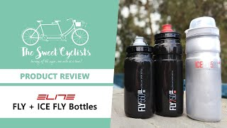 Trying out the lightest cycling water bottles on the market - Elite FLY and ICE FLY Review