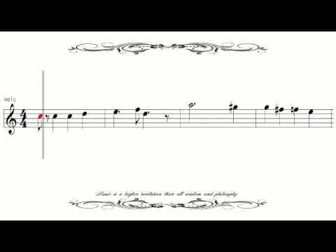 [Sheet Music] Mozart Symphony 40-1 モーツァルト40番