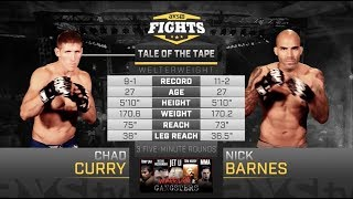 Fight of the Week: Nick Barnes & Chad Curry Battle in the Main Event of LFA 20