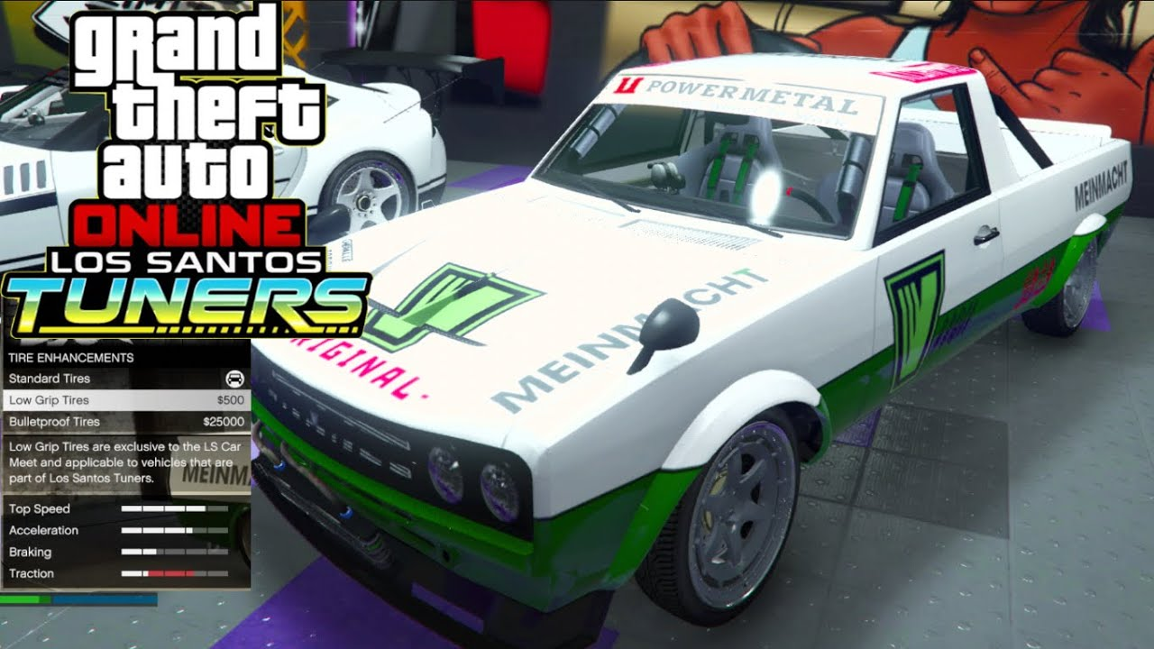 GTA 5 Online Tuners - This SLIDES Like FiveM!! NEW Best Low Grip Tire Build!! + 7 LEAKED Cars!!