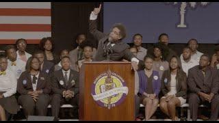 Cornel West Introduces Bernie Sanders in South Carolina