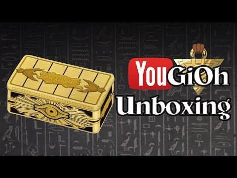 Repeat YuGiOh Gold Sarcophagus Tin 2019 Unboxing by YouGiOh