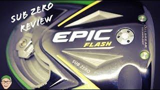 CALLAWAY EPIC FLASH SUB ZERO DRIVER