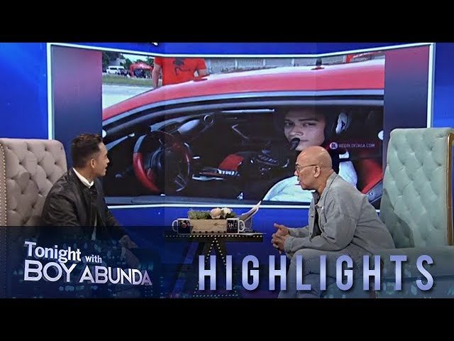 TWBA: Diego Loyzaga shares his childhood dream of becoming a race car driver
