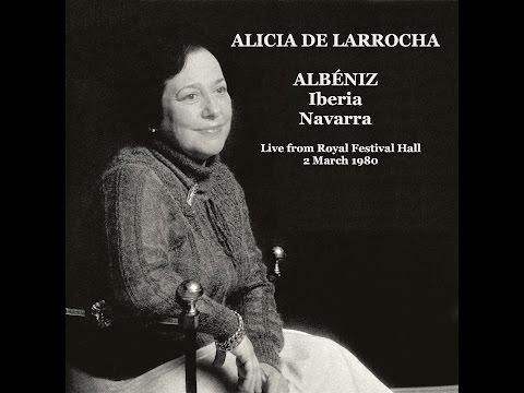 Alicia de Larrocha plays Albéniz - Iberia + Navarra [live,1980]