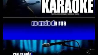 Karaokê Carlos Paião Cinderela