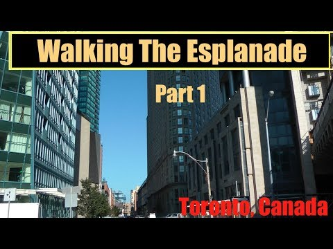 Walking The Esplanade - Part 1