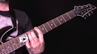 Church Of Vastitas Guitar Tutorial by Bloodbath