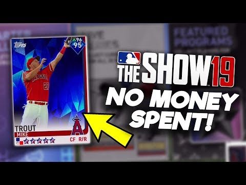 BUYING MIKE TROUT! No Money Spent #10! MLB The Show 19 Diamond Dynasty