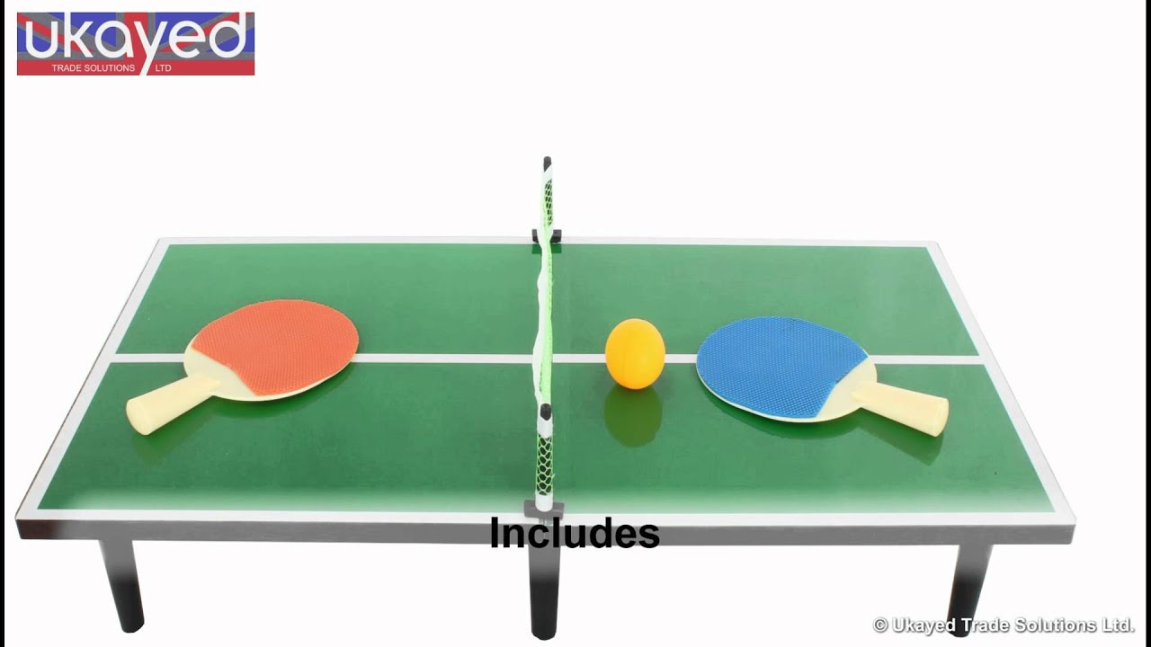 Bon Deluxe Tabletop Table Tennis