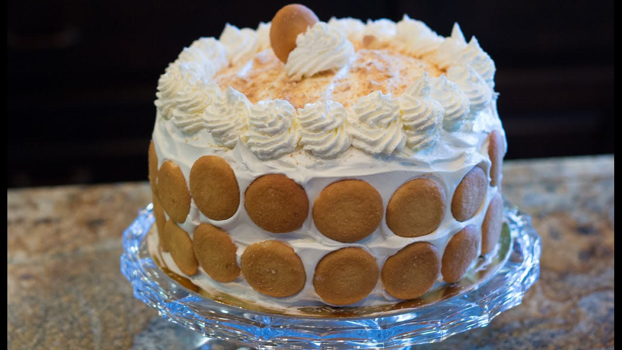 Banana Pudding Cake YouTube