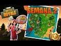 ENCESTA LA PELOTA EN DISTINTOS AROS 🏀LOCALIZACIONES🏀 - Fortnite Battle Royale