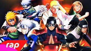 Rap dos Hokages (Naruto) - A VONTADE DO FOGO | NERD HITS
