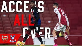 Pitch side camera! Woodwork denies Palace 3 points | Access All Over Arsenal (A)