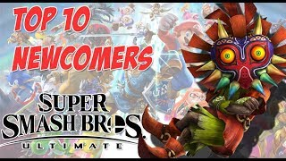 Top 10 Newcomers I want for Super Smash bros Ultimate