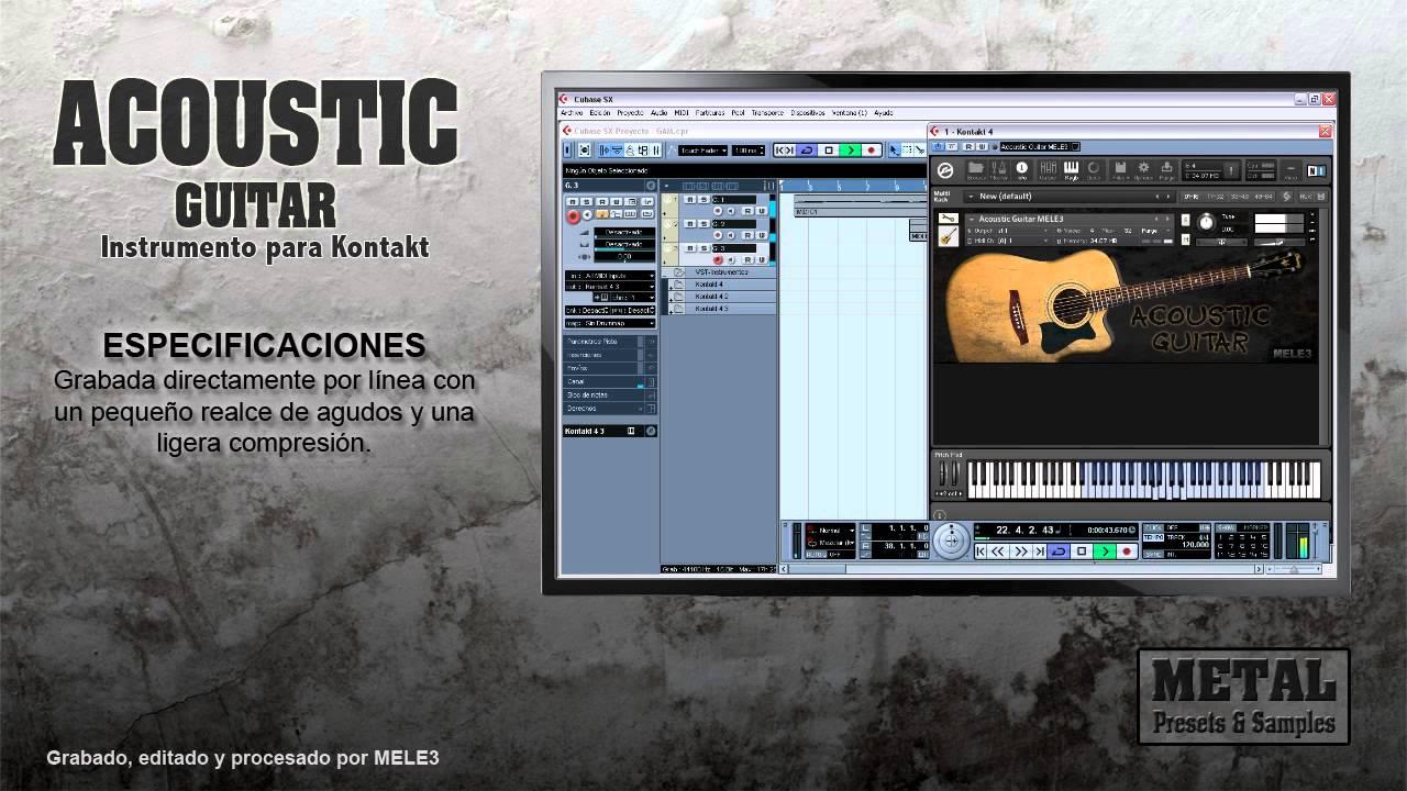 acoustic guitar mele3 kontakt instrument youtube. Black Bedroom Furniture Sets. Home Design Ideas