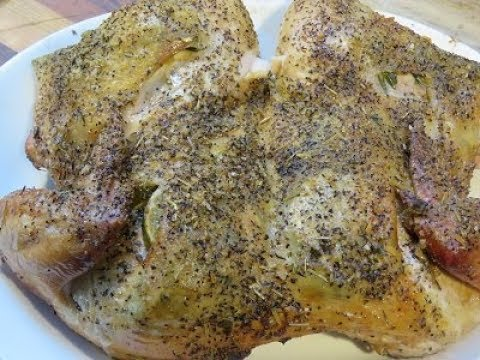Rosemary,Lime And Garlic Chicken