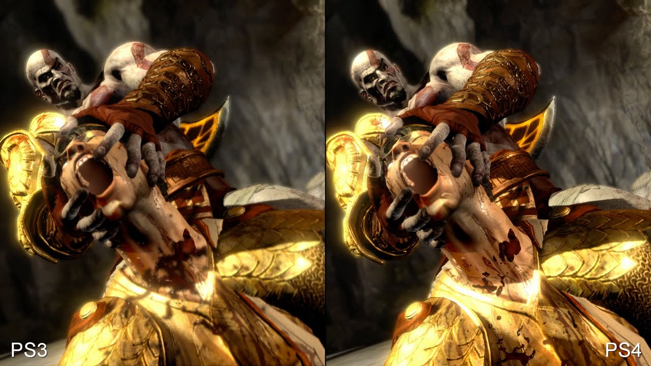 Face-Off: God of War 3 Remastered • Eurogamer net
