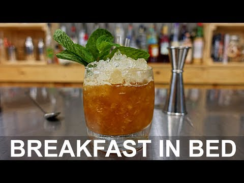 Breakfast in Bed Cocktail Recipe - MARMALADE & SWEET VERMOUTH
