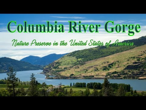 Visiting Columbia River Gorge, Nature Preserve in the United States of America
