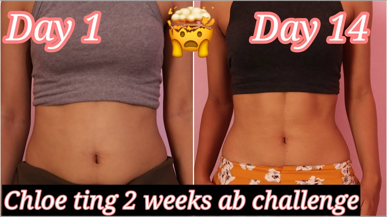 abs in 2 weeks? I tried chloe ting's 2 weeks ab workout ...