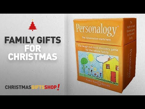 Top Family Gifts For Christmas Ideas: Personalogy Family