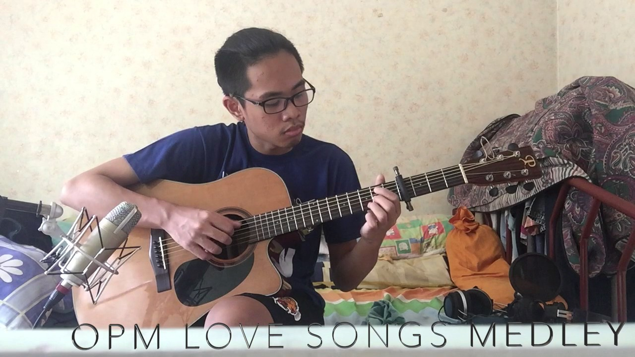 Opm Love Songs Medley Guitar Cover Youtube