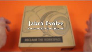видео Jabra Evolve 40 Офисные гарнитуры