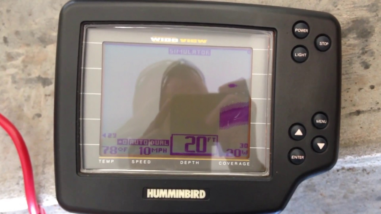 humminbird wideview - youtube, Fish Finder