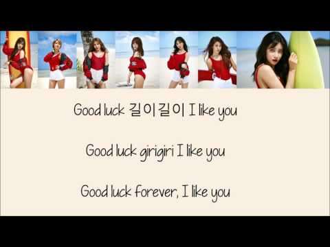 AOA - Good Luck [Hang, Rom & Eng Lyrics]