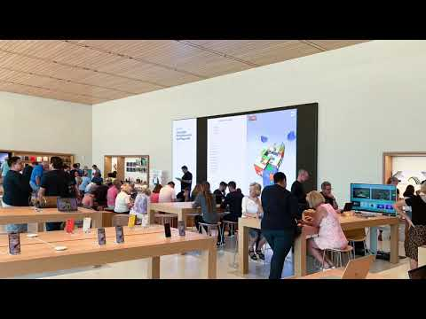 New Apple Waterside shop redesign