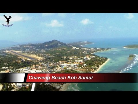 Chaweng Beach -1 / Koh Samui  / overflown with my drone