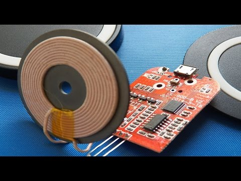 Qi inductive wireless chargers (Teardown)