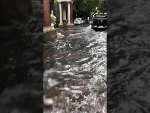 First Flood 2019 Rainy Season Bangkok