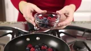 Whole U Cooking - Panna Cotta With Fresh Berries Sauce