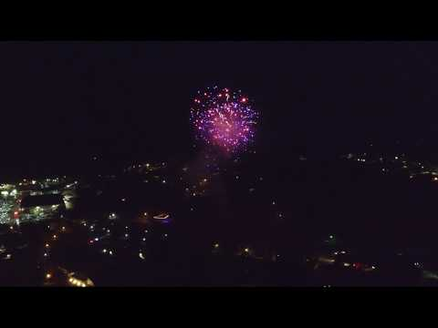 4th of July Fireworks at the Placerville Speedway - Phantom 3 Standard