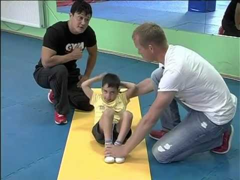 фитнес для детей 3-7 лет