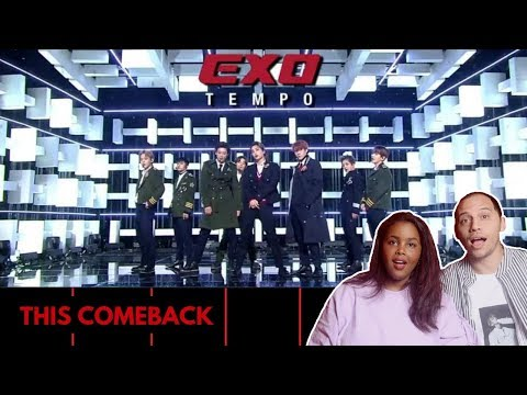 EXO (엑소) - TEMPO (템포) + 닿은 순간 (Ooh La La La) LIVE MUSIC BANK REACTION (EXO REACTION)
