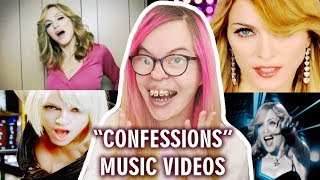MADONNA - 'HUNG UP', 'SORRY', 'GET TOGETHER' & 'JUMP' MUSIC VIDEO REACTION | Sisley Reacts
