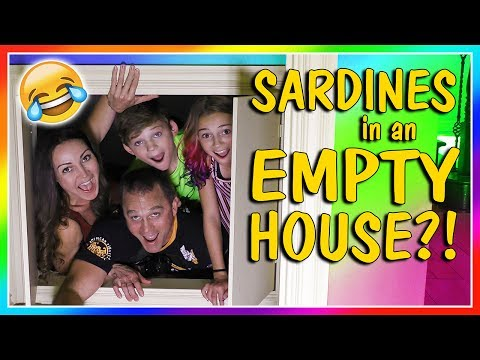 SARDINES IN AN EMPTY HOUSE | HIDE AND SEEK | We Are The Davises