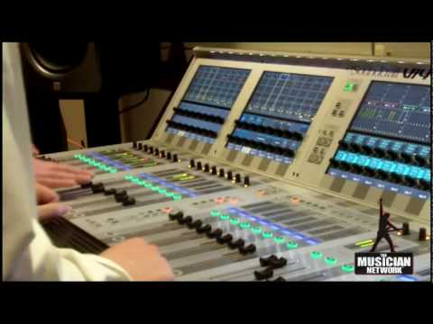 WINTER NAMM 2010 - SOUNDCRAFT - NEW!  Vi4 CONSOLE