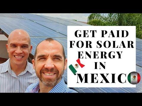 Benefits of Solar Energy In Mexico( CFE Comisión Nacional de Electricidad/ Mexican Electric Company)