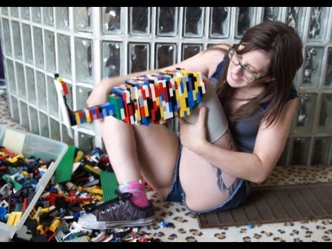 Christina Stephens Made A Prosthetic Leg Out Of Legos