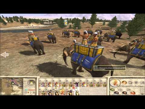 Alexander RTW Historical: Battle of the Hydaspes (Very Hard level)