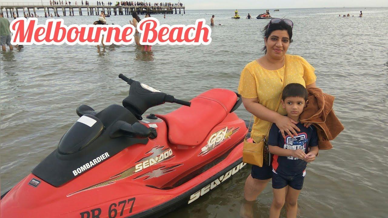 Altona Beach Melbourne|| Beaches in Melbourne|| Beach Vlog|| Indianvlogger