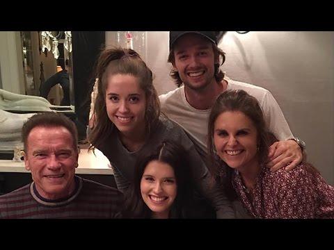 Exes Arnold Schwarzenegger and Maria Shriver Reunite For Daughter Katherine's Birthday