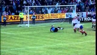 Season 1992-93 - Falkirk Vs Rangers (12th December 1992)